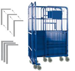 Platzsparender Paketwagen