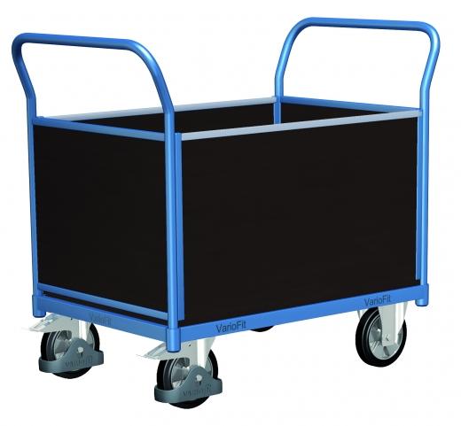 Vierwandwandwagen für schwere Lasten