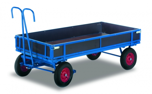 Handpritschenwagen mit Bordwand