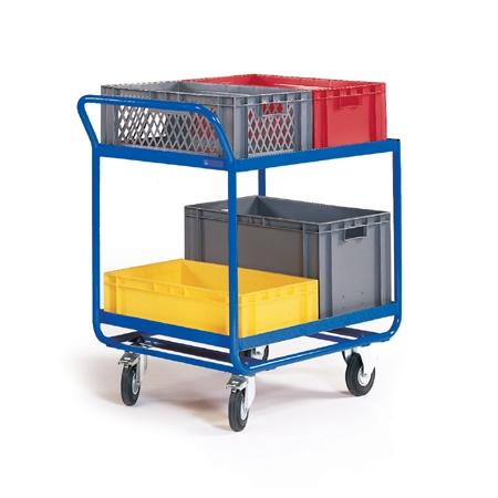 Kommissionierwagen für Kunststoffkisten