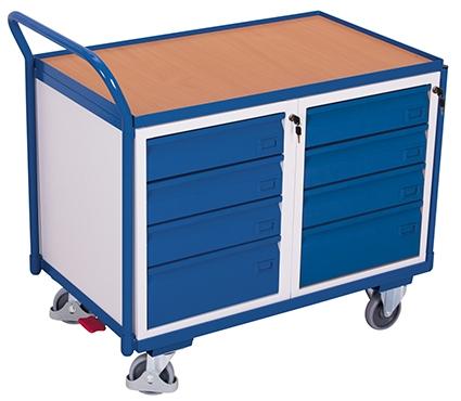Montagewagen mit 8 Schubladen