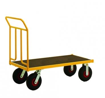 Plattformwagen luftbereift 1336 x 600 x 1090 mm