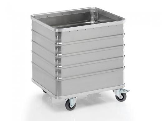 Transportwagen aus Aluminium 730 x 580 x 740 mm (L x B x H)