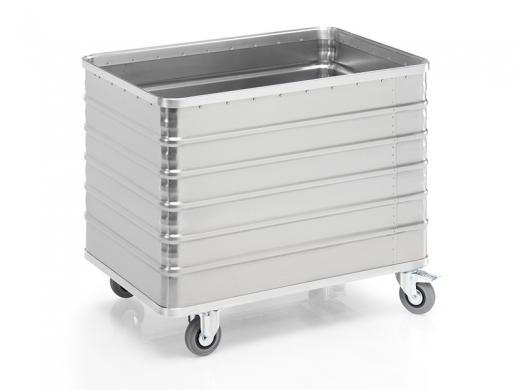 Transportwagen aus Aluminium 1030 x 670 x 835 mm (L x B x H)