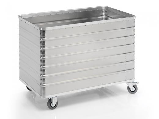 Transportwagen aus Aluminium 1280 x 730 x 935 mm (L x B x H)