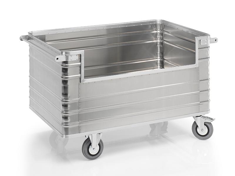 Rollcontainer alu  Alu Rollcontainer Alu Transportwagen | Transportwagenhaendler.com