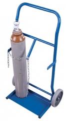 Stahlflaschenkarren für 2x 10 Liter Flaschen