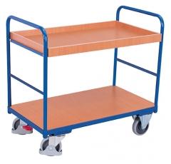 Regalwagen mit einem Boden und einem Tablett