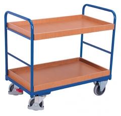 Regalwagen mit zwei Tabletts