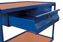Tischwagen mit Schubladen