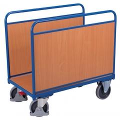 Seitenbügelwagen mit Holzwände