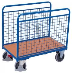Seitenbügelwagen mit Drahtwände