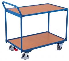 Tischwagen mit zwei Ladeflächen