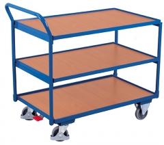 Tischwagen mit drei Ladeflächen