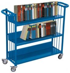 Büchertransportwagen