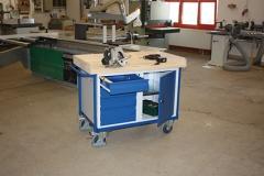 Werkstattwagen mit Ladeflächeumrandung