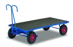 Handpritschenwagen ohne Seitenwände