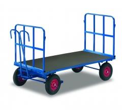 Handpritschenwagen mit 2 Rohrgitterwände