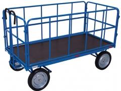 Handpritschenwagen mit 4 Rohrgitterwände