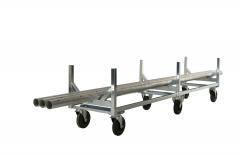 Langmaterialwagen für Profile, Stangen und Rohre
