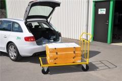 Plattformwagen luftbereift 836 x 500 x 1090 mm