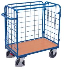 Paketwagen mit Gitter (Dreiwand)