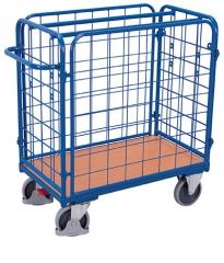Paketwagen mit vier Gitter