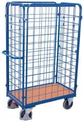Hoher Paketwagen mit vier Gitter