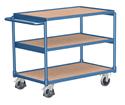 Flacher Tischwagen mit 3 Ladeflächen