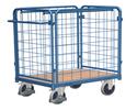 Paketwagen nieder und hoch, mit drei Gitter, oder vier Gitter.